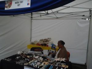 stand de María Benita Tukly Hey