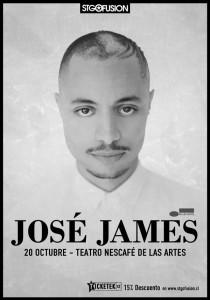 José James en Chile.